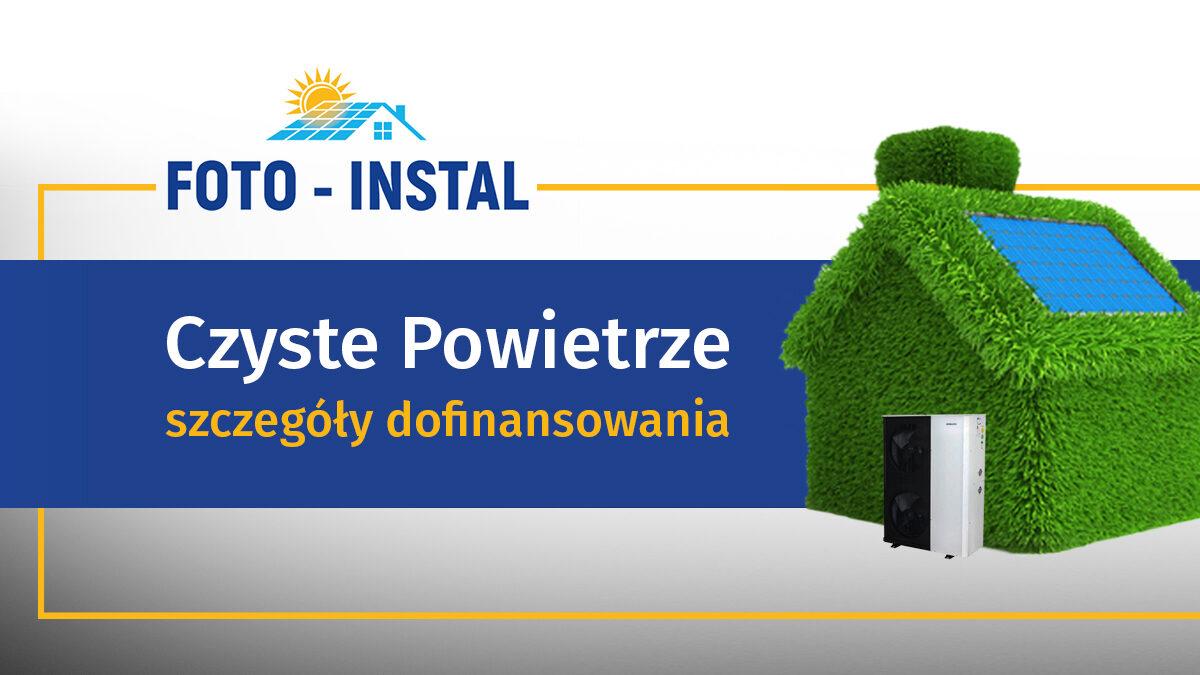 program czyste powietrze- foto instal